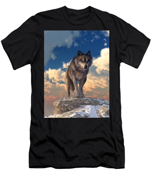 The Eyes Of Winter Men's T-Shirt (Athletic Fit)