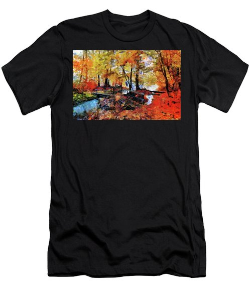 The Failing Colors Of Autumn Men's T-Shirt (Athletic Fit)