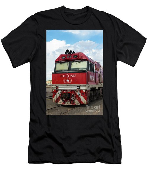 The Famed Ghan Train  Men's T-Shirt (Athletic Fit)