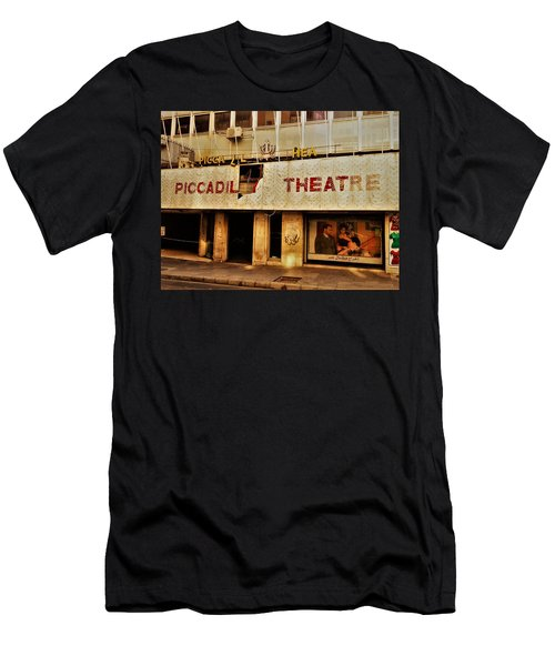 The Famous Beirut Picadilly Theater  Men's T-Shirt (Slim Fit) by Funkpix Photo Hunter