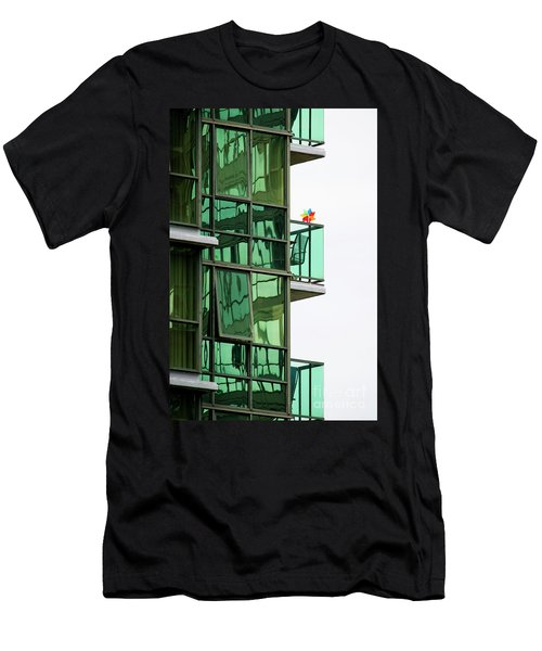 Men's T-Shirt (Slim Fit) featuring the photograph The Windmill by Chris Dutton