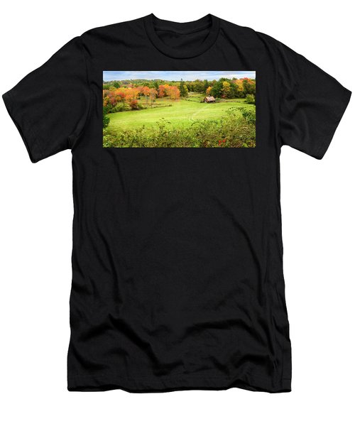 The Farm In The Dell Men's T-Shirt (Athletic Fit)
