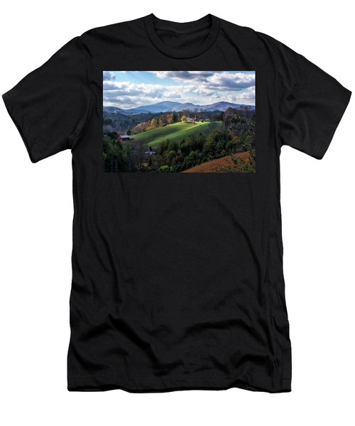 The Farm On The Hill Men's T-Shirt (Athletic Fit)