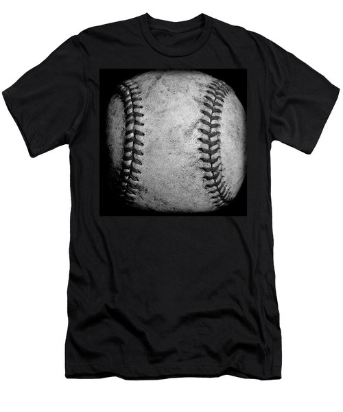 Men's T-Shirt (Slim Fit) featuring the photograph The Fastball by David Patterson