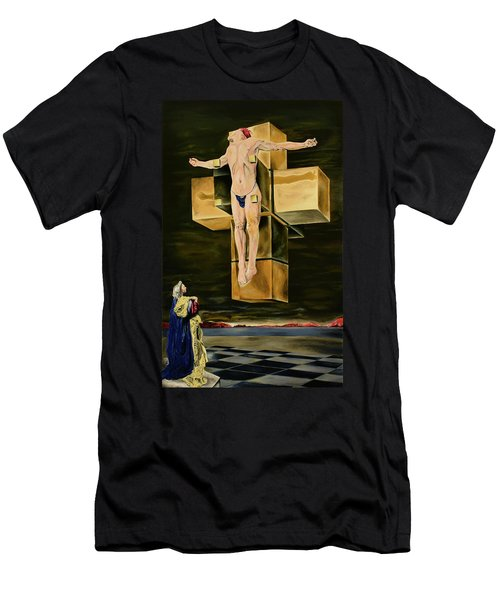 The Father Is Present -after Dali- Men's T-Shirt (Athletic Fit)
