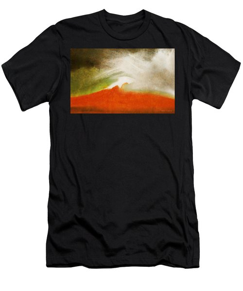 The Fire Mountain - Cotapaxi Men's T-Shirt (Athletic Fit)