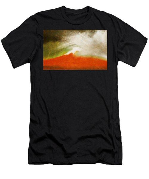 The Fire Mountain - Cotapaxi Men's T-Shirt (Athletic Fit)