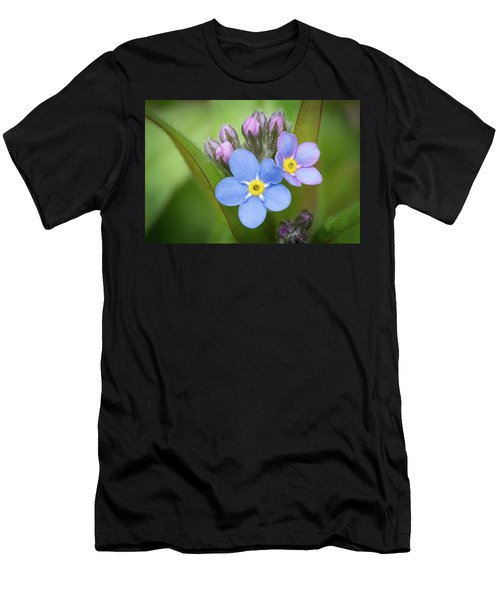 The First Blossom Of The Forget Me Not Men's T-Shirt (Athletic Fit)