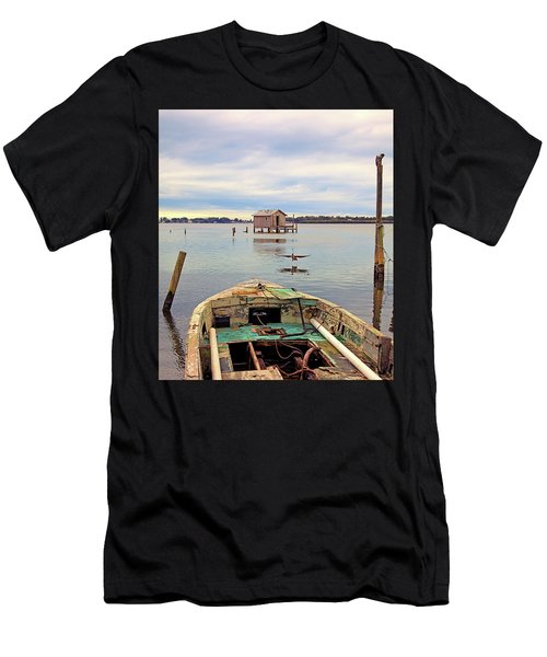 The Fishing Shack Men's T-Shirt (Athletic Fit)