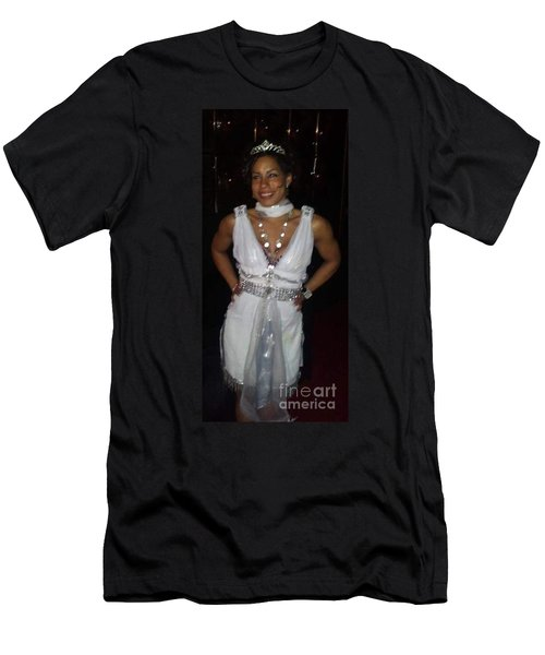 The Fit Goddess Men's T-Shirt (Slim Fit) by Talisa Hartley