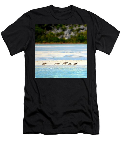 The Five Sandpipers Men's T-Shirt (Athletic Fit)