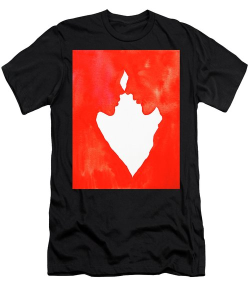 The Flame Of Love Men's T-Shirt (Slim Fit) by Iryna Goodall