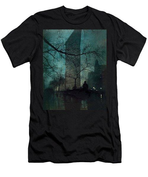 The Flatiron Building Men's T-Shirt (Athletic Fit)