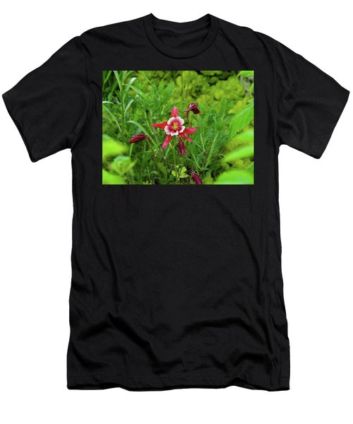 The Flowering Columbine Men's T-Shirt (Athletic Fit)