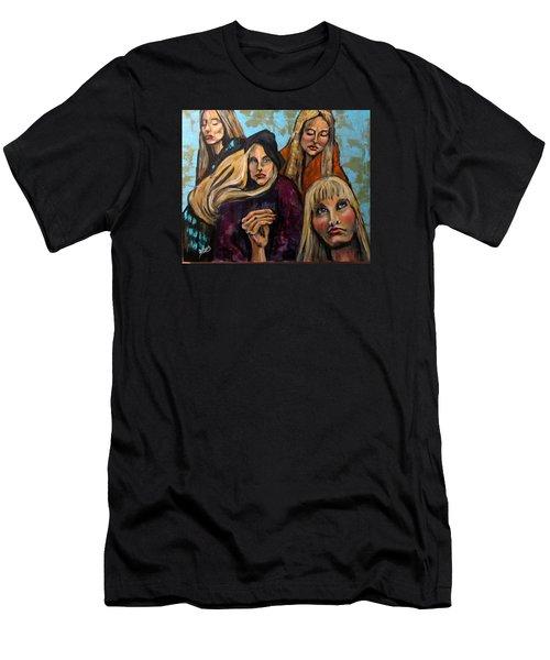 The Folk Singer Men's T-Shirt (Athletic Fit)