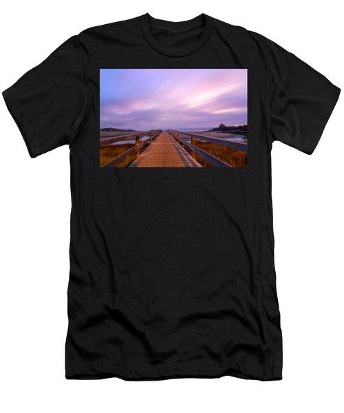 The Footbridge Good Harbor Beach Men's T-Shirt (Athletic Fit)