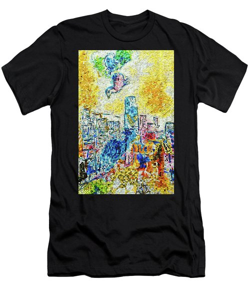 The Four Seasons Chicago Portrait Men's T-Shirt (Athletic Fit)