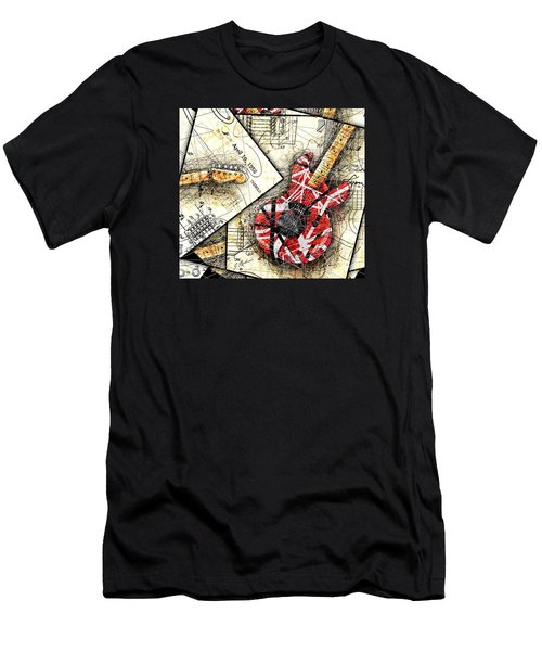 The Frankenstrat Men's T-Shirt (Slim Fit) by Gary Bodnar