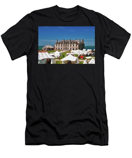 The French Castle 6709 Men's T-Shirt (Athletic Fit)