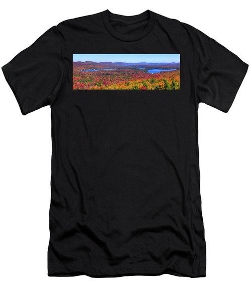The Fulton Chain Of Lakes Men's T-Shirt (Athletic Fit)