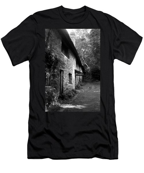 Men's T-Shirt (Athletic Fit) featuring the photograph The Game Keepers Cottage by Michael Hope