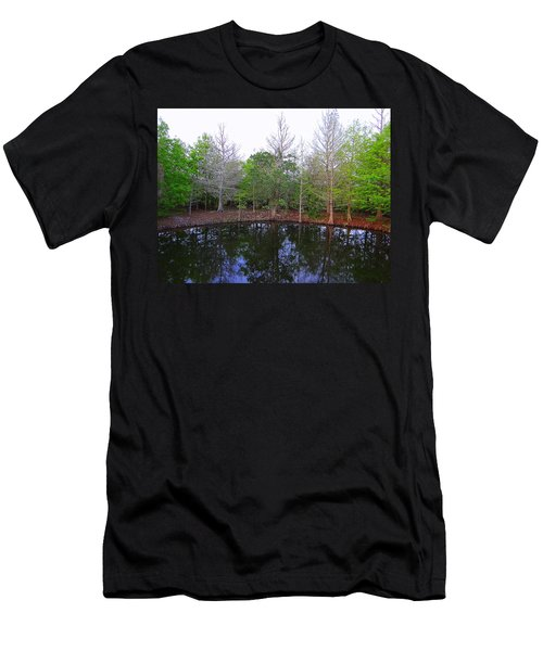 The Gator Hole At Green Cay In Florida Men's T-Shirt (Athletic Fit)