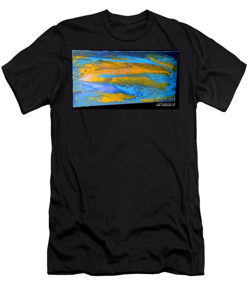 the GATOR in abstracr Men's T-Shirt (Athletic Fit)