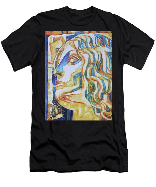 The Gaze - Inspired By Tullio Lombardo, 1460-1532 Men's T-Shirt (Athletic Fit)
