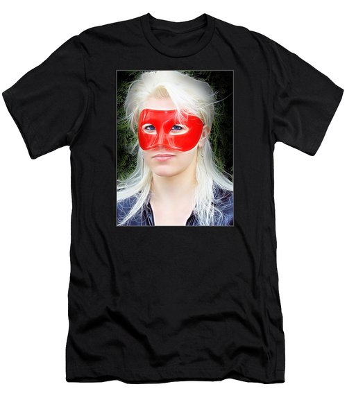 The Gaze Of A Heroine Men's T-Shirt (Athletic Fit)