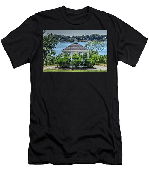Men's T-Shirt (Slim Fit) featuring the photograph The Gazebo by Tom Prendergast