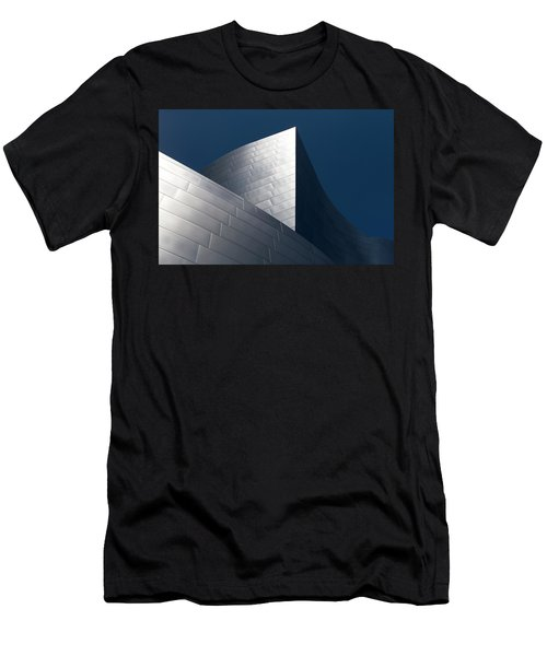 Men's T-Shirt (Athletic Fit) featuring the photograph The Geometry Of Disney Hall by Lorraine Devon Wilke