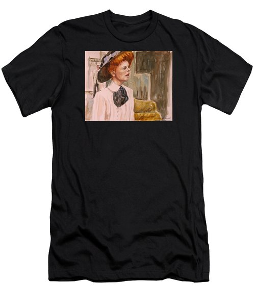 The Girl In The Movies Men's T-Shirt (Athletic Fit)