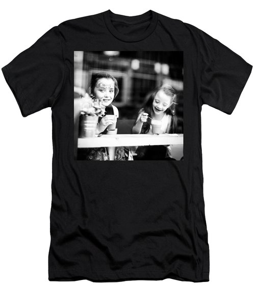 The Girls At Bean There Coffee Shop Men's T-Shirt (Athletic Fit)