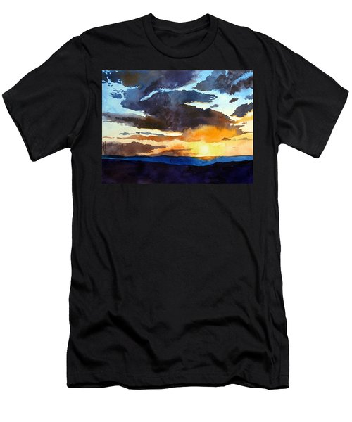 The Glory Of The Sunset Men's T-Shirt (Athletic Fit)