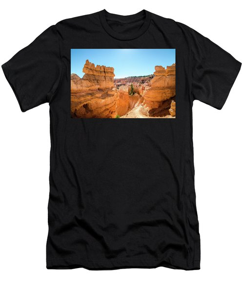 The Glowing Canyon Men's T-Shirt (Athletic Fit)