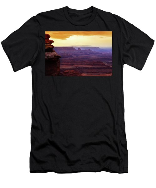 The Gold Light Of Dawn Men's T-Shirt (Athletic Fit)