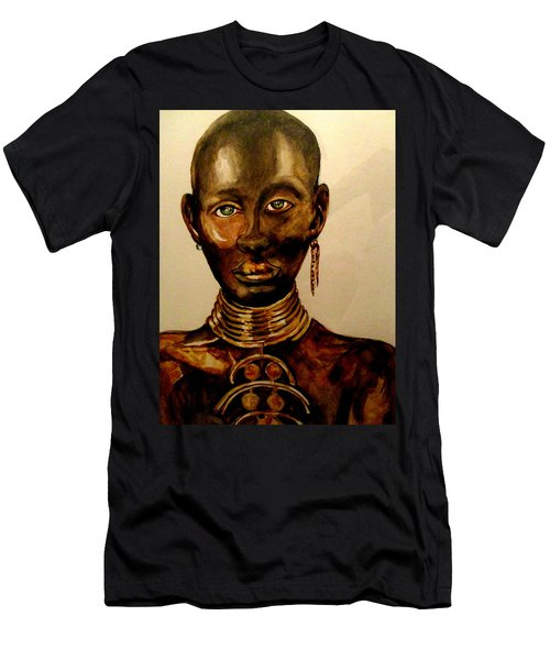 The Golden Black Men's T-Shirt (Athletic Fit)