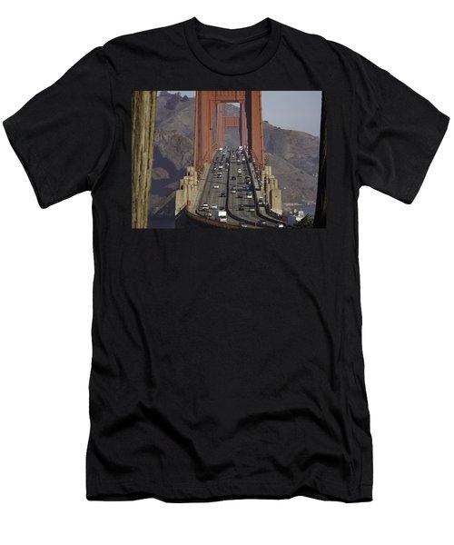 The Golden Gate Men's T-Shirt (Athletic Fit)