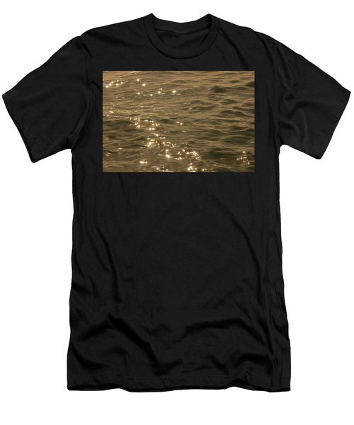 Men's T-Shirt (Athletic Fit) featuring the photograph The Golden Ocean by RKAB Works