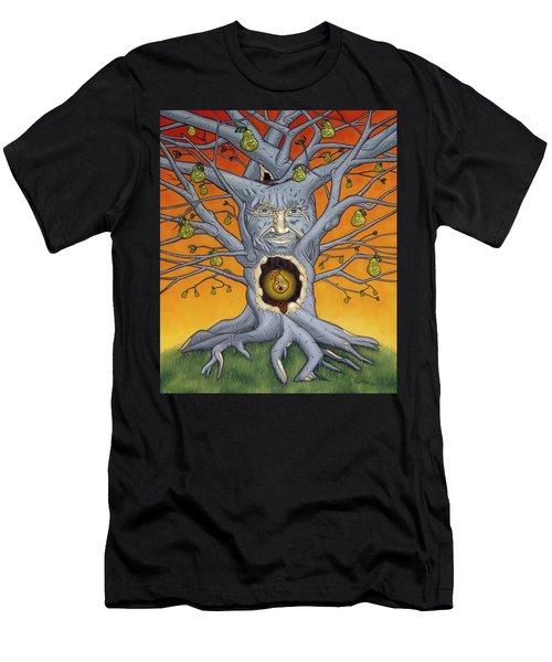The Golden Pear Men's T-Shirt (Athletic Fit)