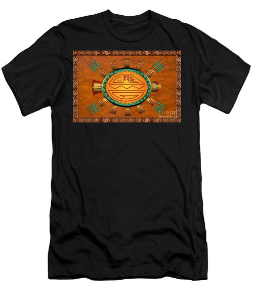 The Golden Spirit Turtle Men's T-Shirt (Athletic Fit)