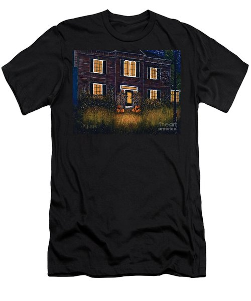 The Good Witch Grey House Men's T-Shirt (Athletic Fit)