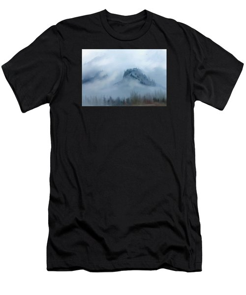The Gorge In The Fog Men's T-Shirt (Athletic Fit)