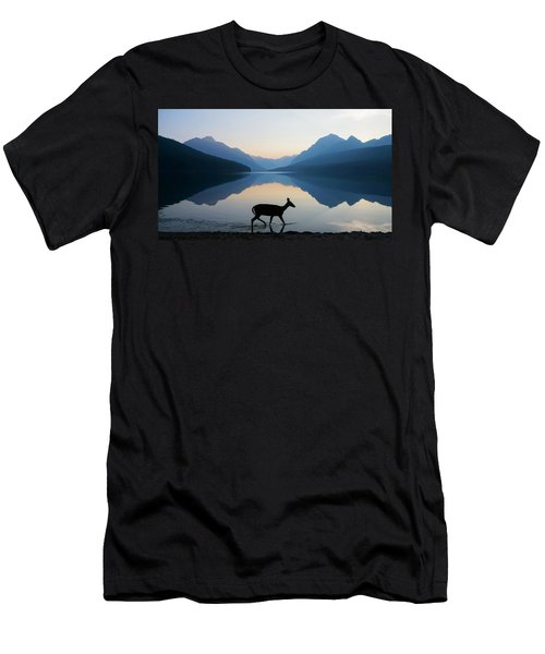 Men's T-Shirt (Athletic Fit) featuring the photograph The Grace Of Wild Things by Dustin  LeFevre