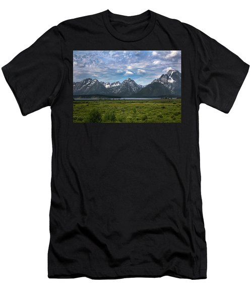 The Grand Tetons Men's T-Shirt (Athletic Fit)