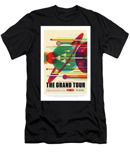 The Grand Tour - Nasa Vintage Poster Men's T-Shirt (Athletic Fit)