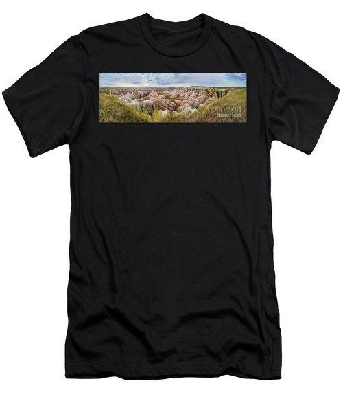 Deep And Wide Panorama Men's T-Shirt (Athletic Fit)