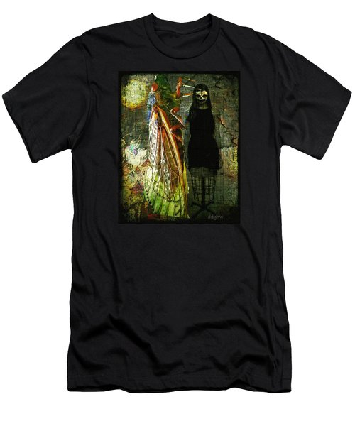Men's T-Shirt (Athletic Fit) featuring the digital art The Great Escape by Delight Worthyn