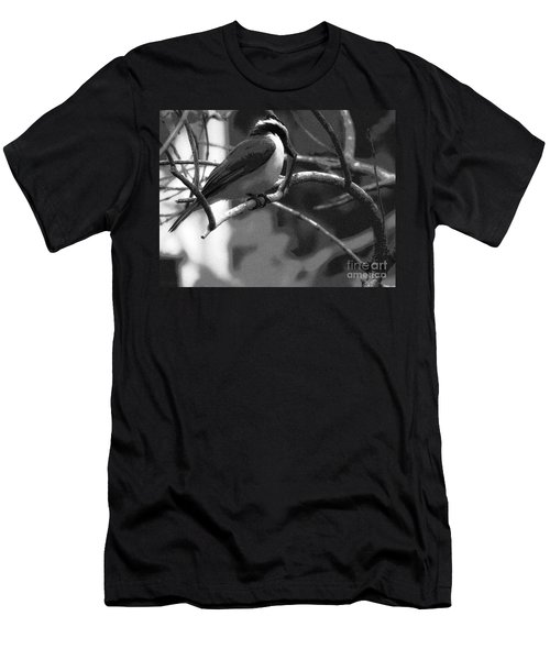 The Great Kiskadee  Men's T-Shirt (Athletic Fit)