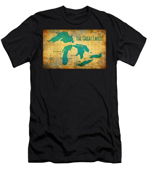 The Great Lakes Men's T-Shirt (Athletic Fit)